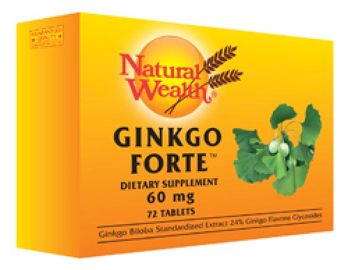 Natural Wealth - Ginko forte tablete
