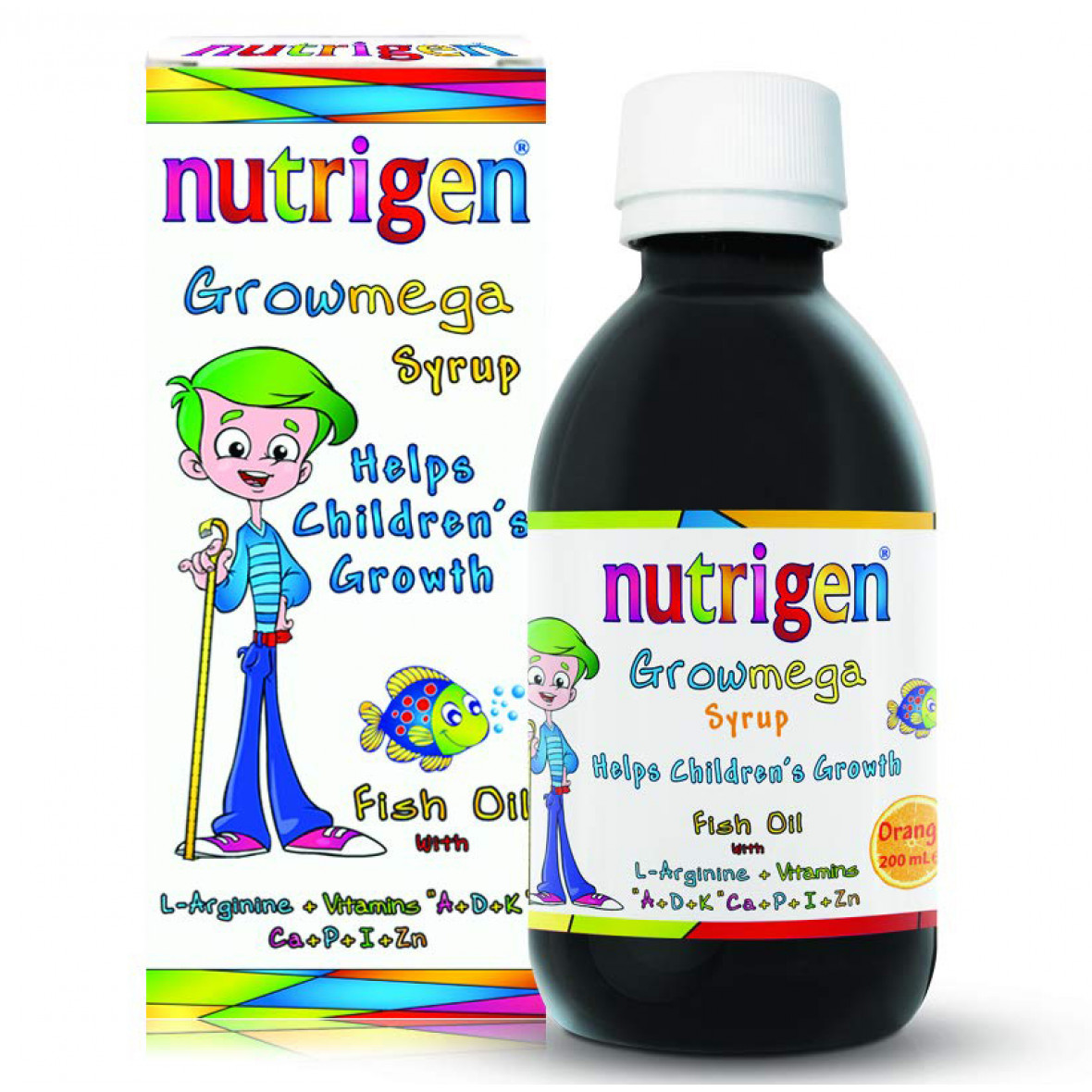 NUTRIGEN GROWMEGA SIRUP 200ml
