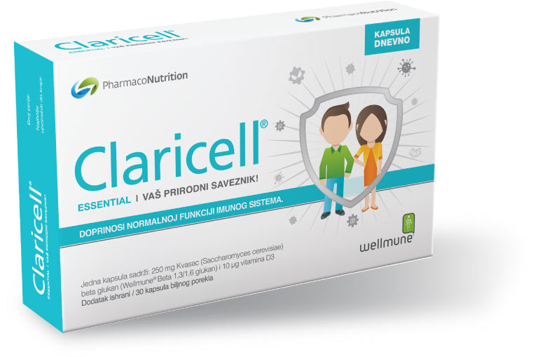 CLARICELL 30 kapsula