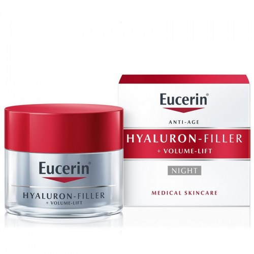 Eucerin Hyaluron-Filler + Volume-Lift Noćna krema 50 ml