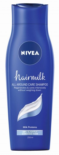 Nivea sampon hair milk