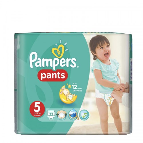 pampers pants 5 22 kom