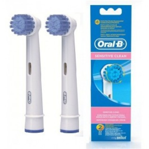 Oral b sensitive clean nastavci za elektricnu cetkicu