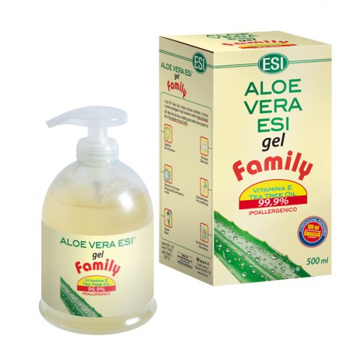 esi aloe vera gel family 500 ml