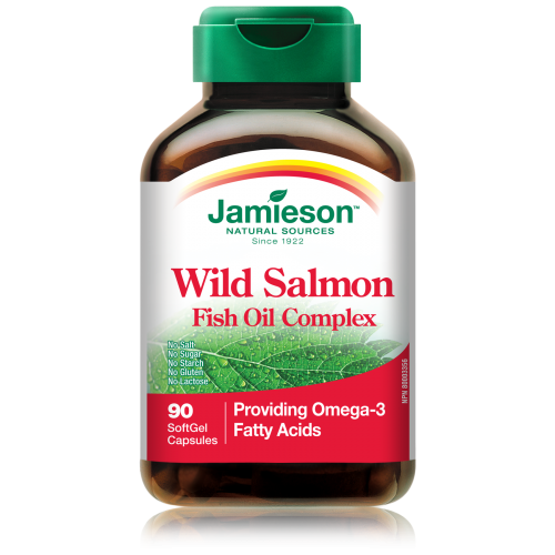 Jamieson wild salmon and fish oil
