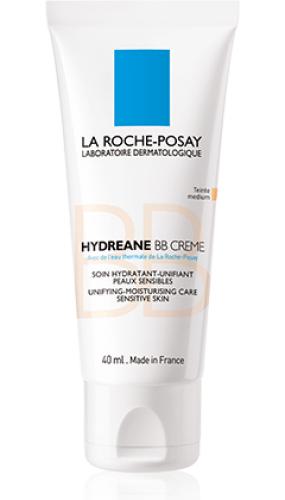 la roche posay hydreane bb krema medium 40 ml