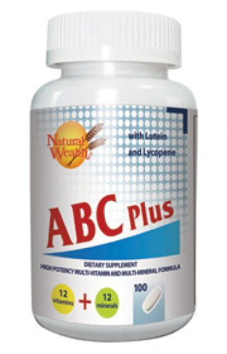 natural wealth abc multivitaminska formula tablete