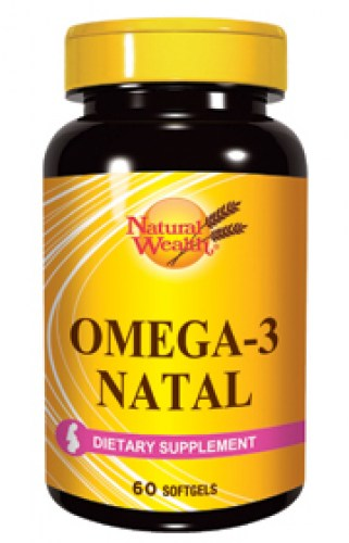natural wealth omega-3 natal 60 kapsula