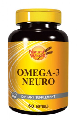 natural wealth omega-3 neuro 60 kapsula