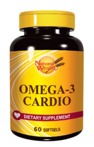 Natural Wealth omega-3 Cardio kapsule