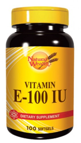 Natural Wealth vitamin E-100IU kapsule