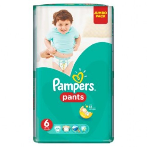 pampers pants 6 44kom
