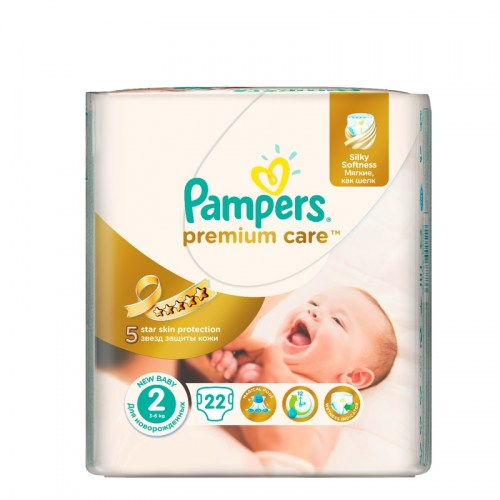 Pampers premium care 2, 22 kom
