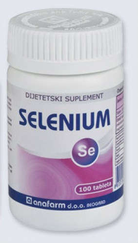 Tablete selena - selenium 50mcg 100 tableta