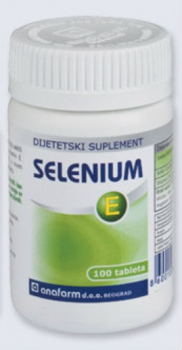 Tablete selena i vitamimina E - Selenium E 100 tableta
