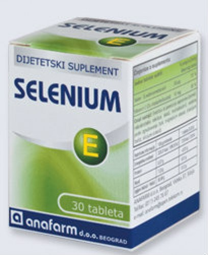 Tablete selena i vitamina E - Selenium E 30 tableta