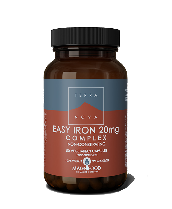 TERRANOVA EASY IRON 20 mg 50 kapsula